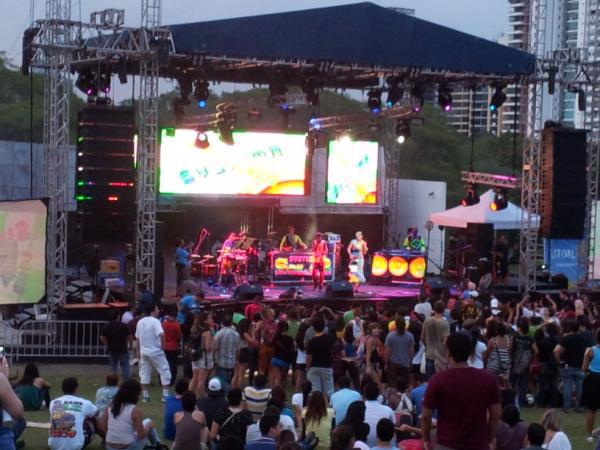 Festival Abierto 2012, Panamá