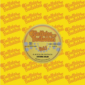 Out soon: Galletas Bailables 01 by Systema Solar. Listen & pre-order.