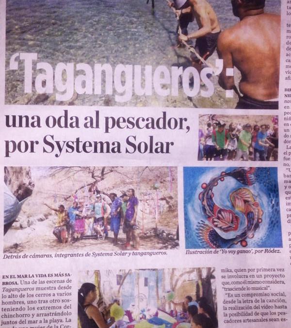 Tagangueros; Una Oda al Pescador por Systema Solar