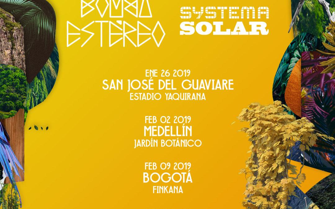 """Bomba Estéreo y Systema Solar anuncian gira """"Siembra"""" en contra de la deforestación"""